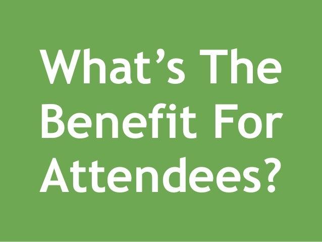 ExperienceGuru - Attendee Benefits Slide 2