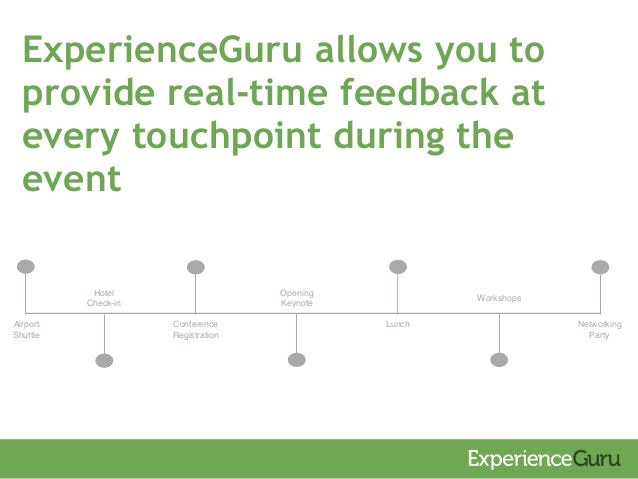 ExperienceGuru - Attendee Benefits Slide 3