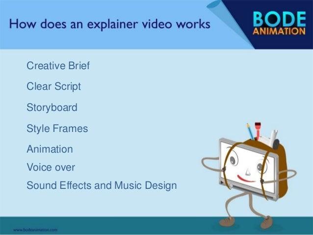 explainer video script template - story of explainer video