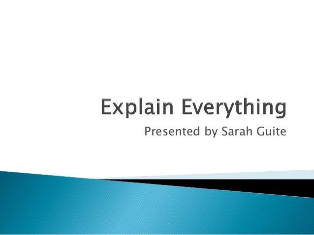 Presented by Sarah Guite