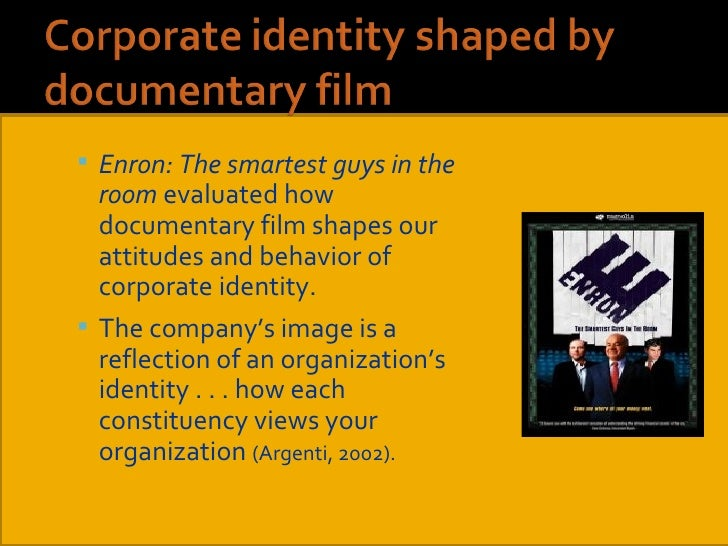 an analysis of hegemony in the movie enron the smart guys in the room