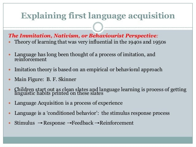 FIRST LANGUAGE ACQUISITION DOWNLOAD