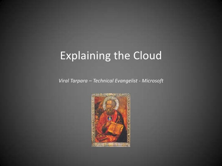 Explaining the CloudViral Tarpara – Technical Evangelist - Microsoft<br />