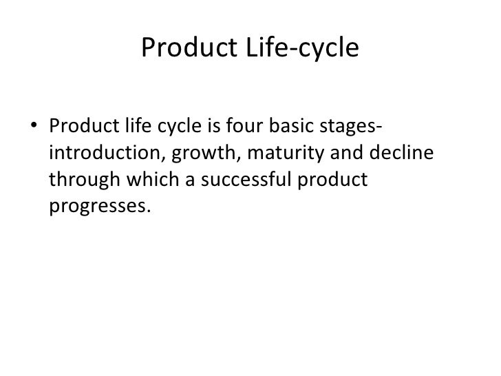 relationship between advertising and the product life cycle