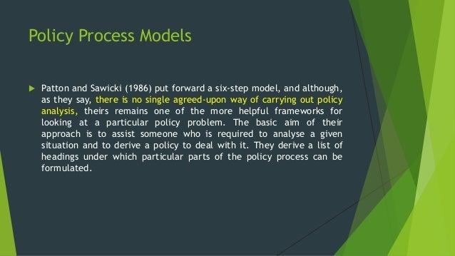 Public policy models pdf