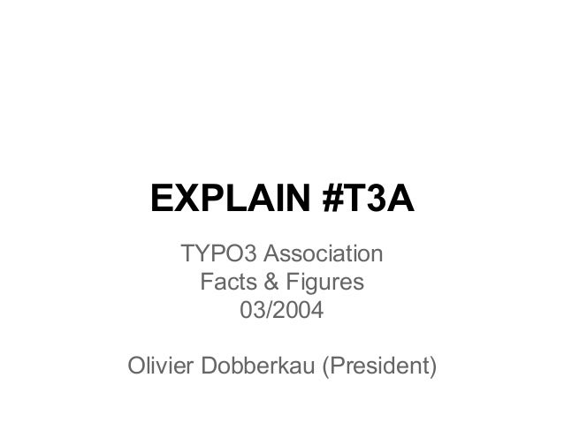 Explain TYPO3 Association March 2014