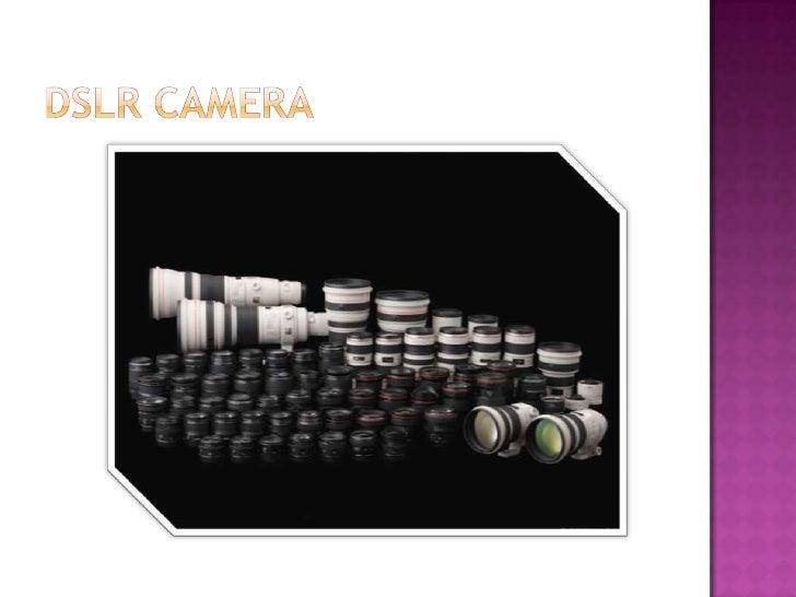  ExplanationDSLR Camera How To Use DSLR Camera Type Lens Of SLR Camera