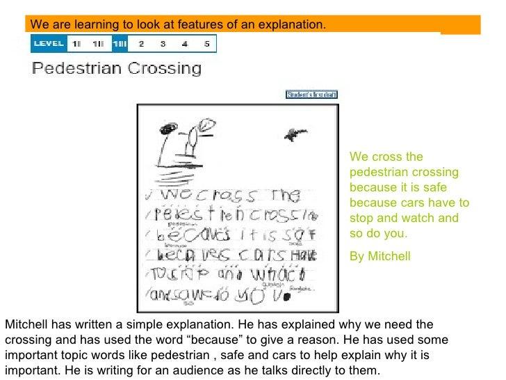 Explanation writing Slide 3
