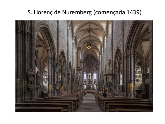 S. Llorenç de Nuremberg (començada 1439)