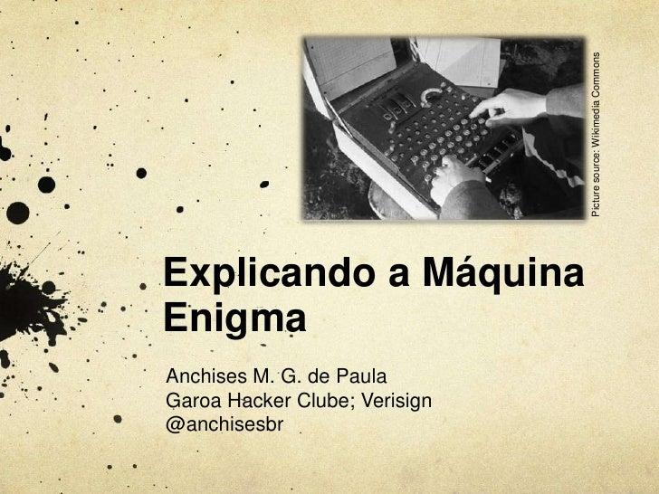 Picture source: Wikimedia CommonsExplicando a MáquinaEnigmaAnchises M. G. de PaulaGaroa Hacker Clube; Verisign@anchisesbr