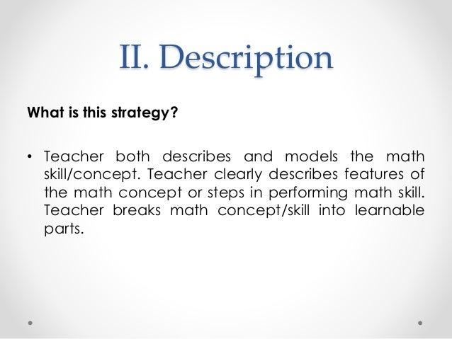 Explicit Teacher Modelling