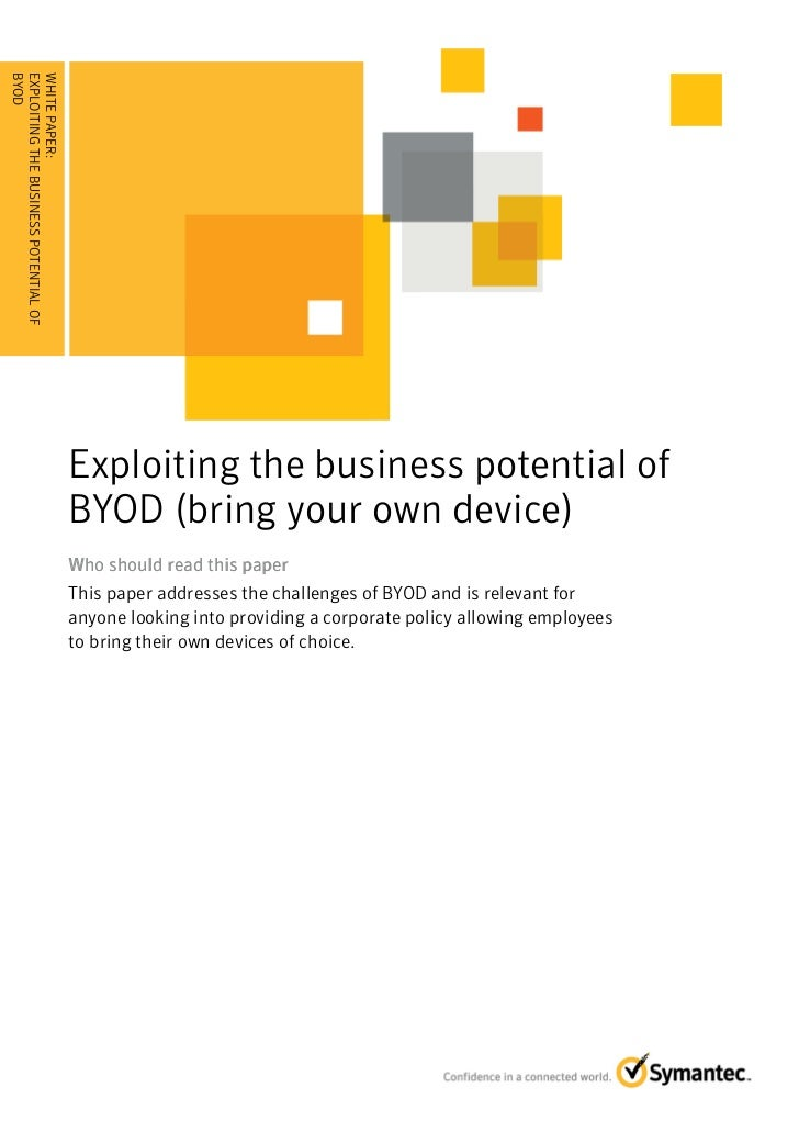 BYOD . . . . . . . . . . . . . . . . . . . . . . . . . . . . . . . . . . ......EXPLOITING THE BUSINESS POTENTIAL OFWHITE P...