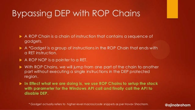 rop chain