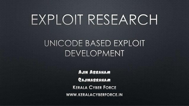 @ajinabraham ASCII UNICODE CHART