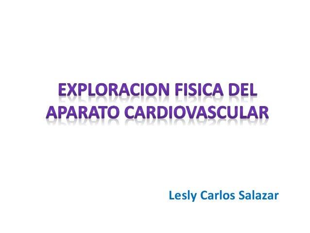 Lesly Carlos Salazar