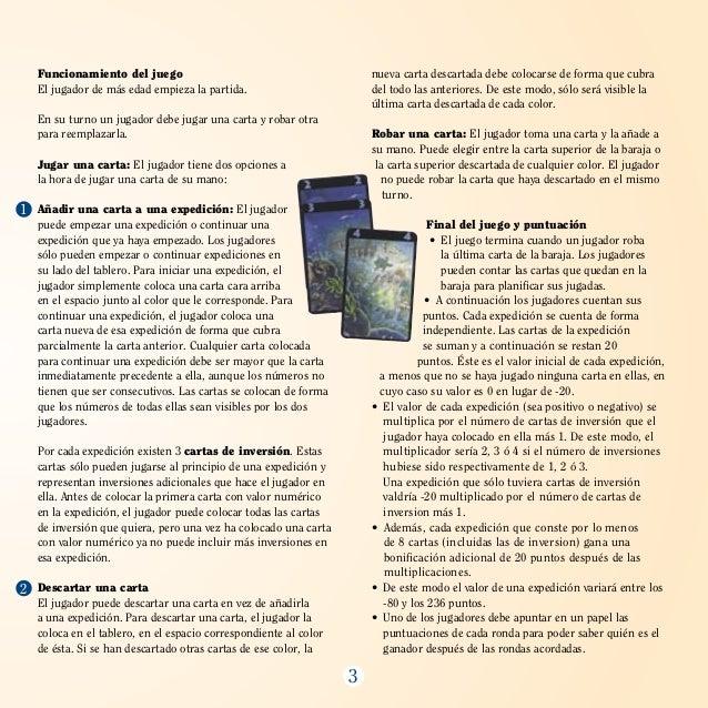 Exploradores (Reglamento) - Juego de cartas Slide 3