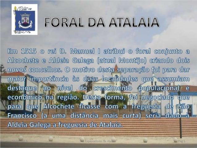 """15-01-2013   """"Os Exploradores da Atalaia""""   Pág 1"""