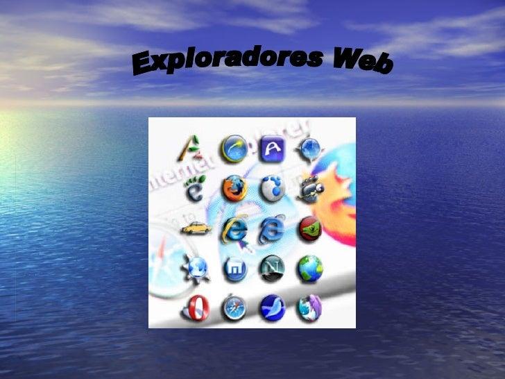 Exploradores Web