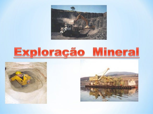 Exploração MineralÀ superfície da Terra No anterior da TerraMinasPedreiras Areeiros