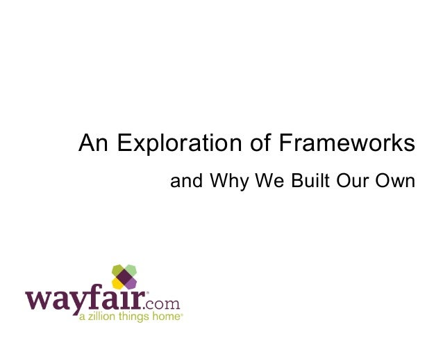 An Exploration of Frameworks and Why We Built Our Own