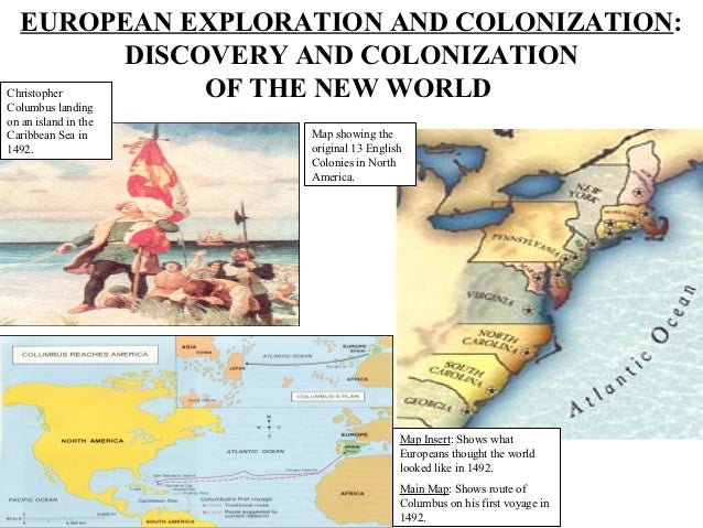 Age Of Exploration And Discovery: European Exploration And Colonization Power Point