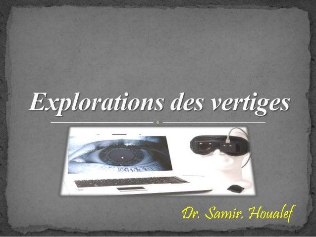 Dr. Samir. Houalef