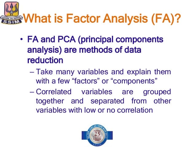 exploratory factor analysis method factors affecting Surveying and identifying the factors affecting successful this research is a mixed method after exploratory factor analysis, 5 factors mentioned in.