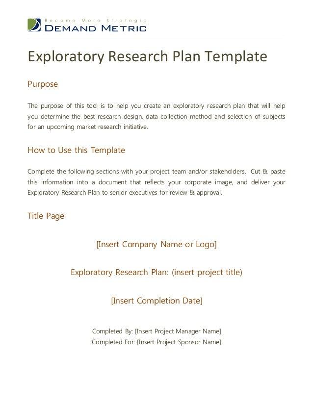exploratory essay pdf