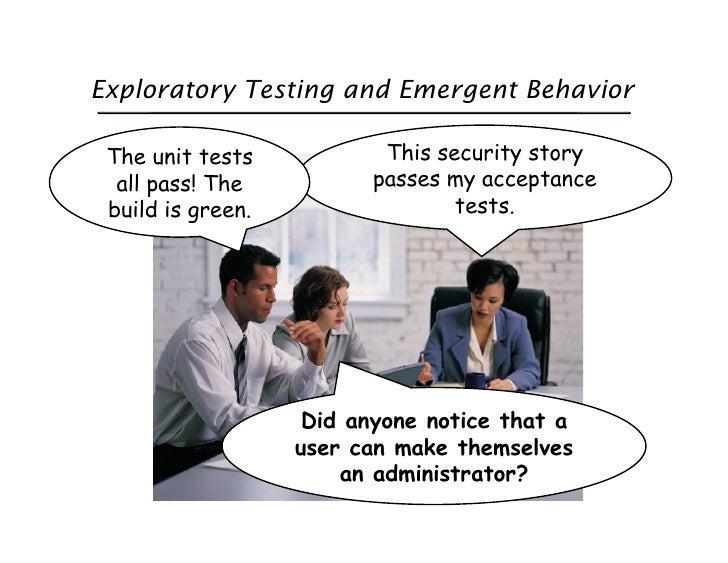 Exploratory Testing in Agile Slide 3