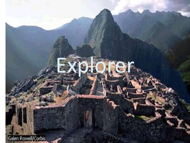 Explorer<br />