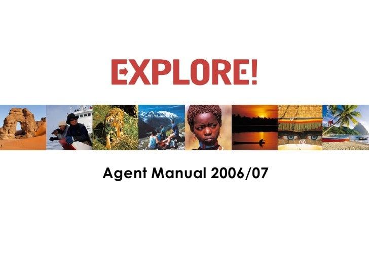 Agent Manual 2006/07
