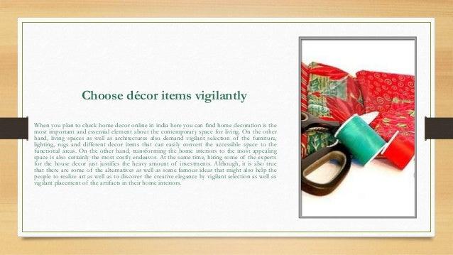 Buy Home Decor Online Shopping In India
