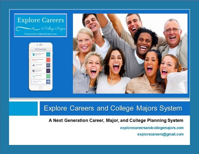 Explore Careers and College Majors System
