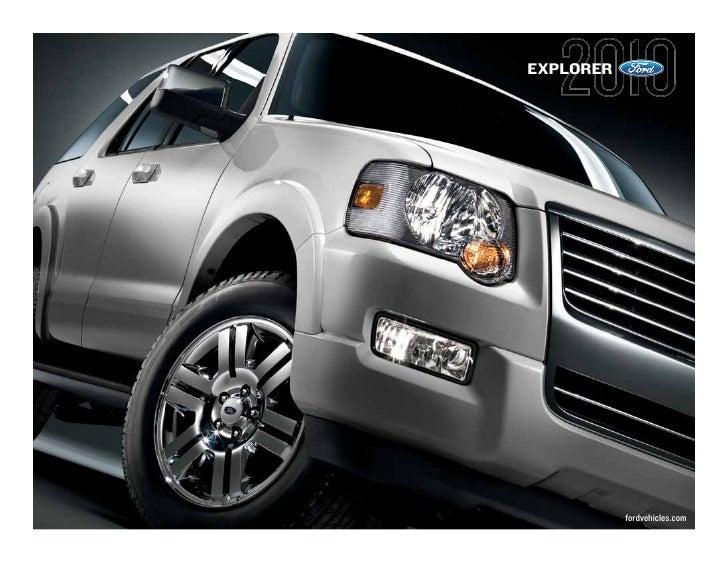 EXPLORER                fordvehicles.com