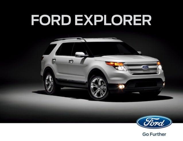 Ford ExplorerВам предстоит поменять сложившееся мнение об автомобиле такого класса. Ford Explorer вышелна новую ступень ра...