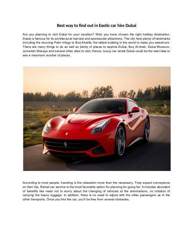 Luxury Car Rental Dubai Luxury Cars Rental Dubai