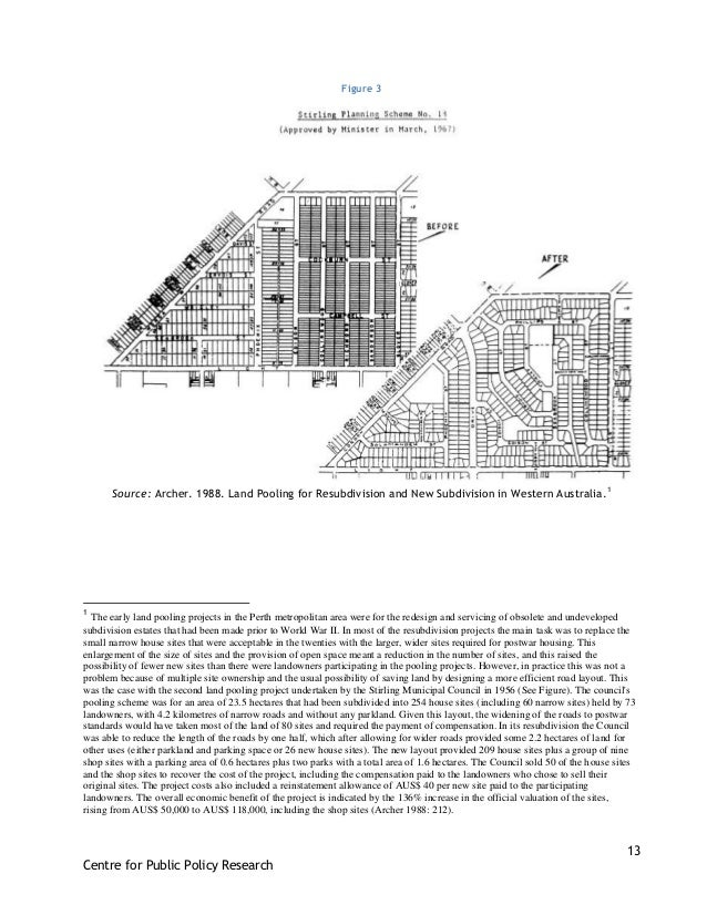 13 Centre for Public Policy Research Figure 3 Source: Archer. 1988. Land Pooling for Resubdivision and New Subdivision in ...