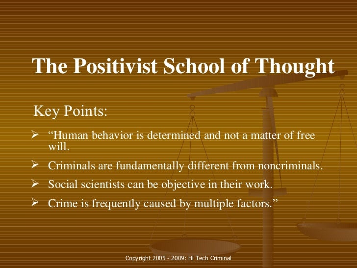 criminology the classical school vs the Our judicial system is complex, and it's based on principles of crime and punishment that have been around for centuries in this lesson, we'll explore the classical school of criminology.