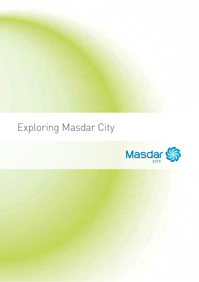 Exploring Masdar City