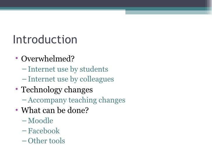 Exploring Online Tools for Teaching (Clean) Slide 2
