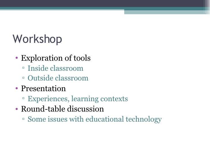 Exploring Online Tools for Teaching (Clean) Slide 3