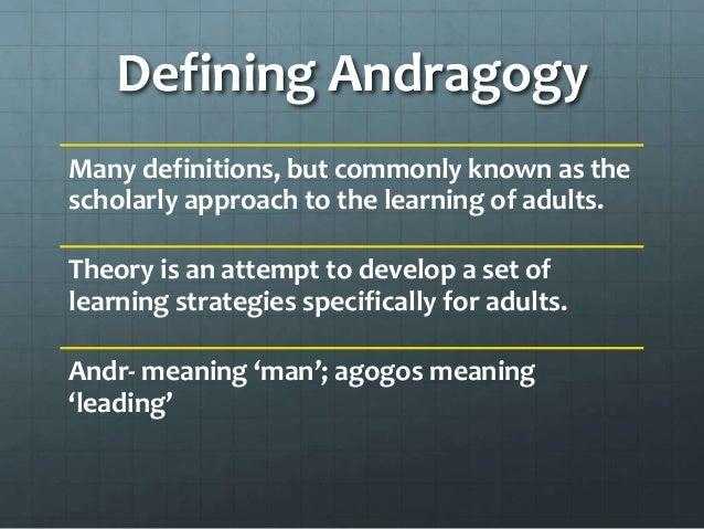"""A Primer on Three """"gogies"""" #pedagogy #heutagogy #andragogy"""