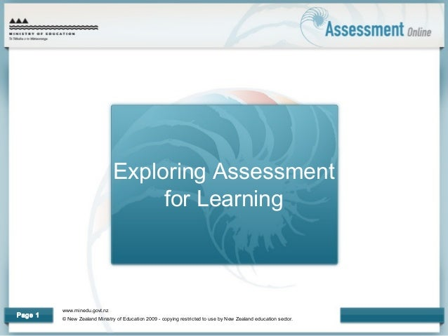 www.minedu.govt.nz © New Zealand Ministry of Education 2009 - copying restricted to use by New Zealand education sector. P...