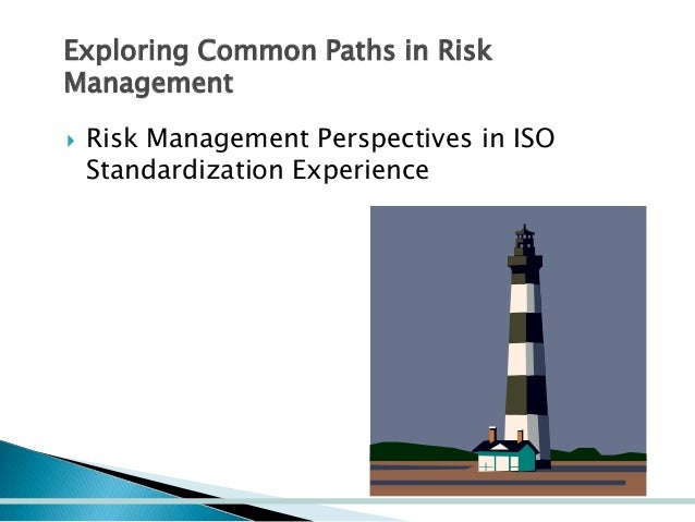 Exploring Common Paths in Risk Management   Risk Management Perspectives in ISO Standardization Experience