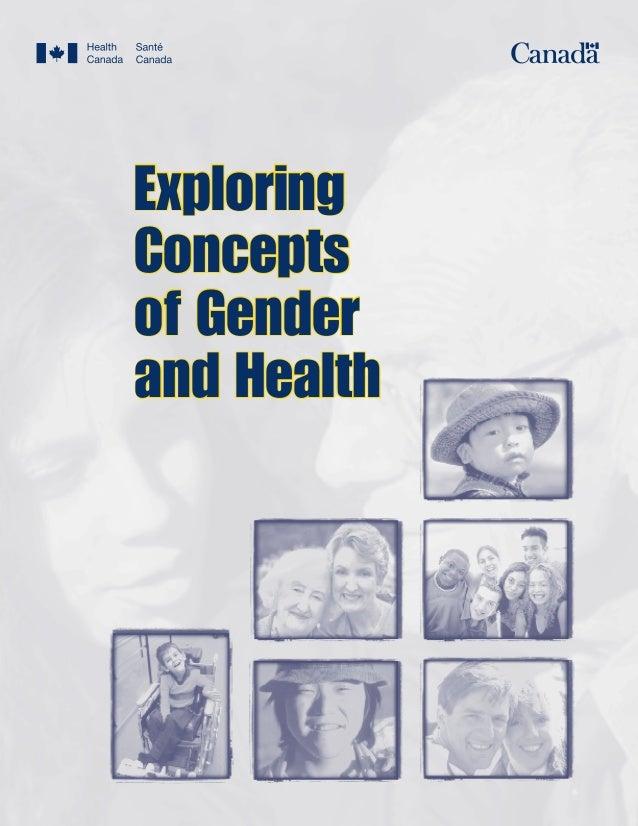 ExploringConceptsof Genderand Health