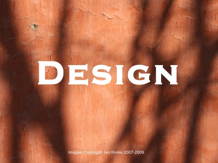 Design Images Copyright  Ian Rorke 2007-2009