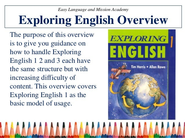 519f4df60fae Exploring English 1 Teaching Ideas