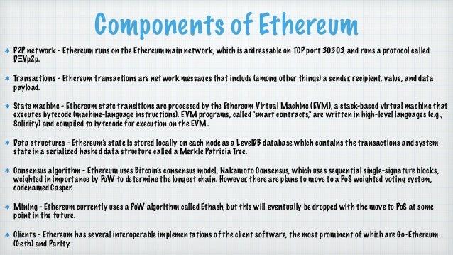 Exploring ethereum
