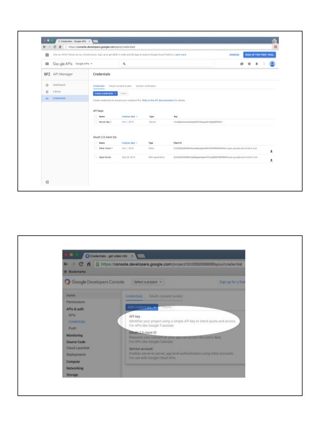 Exploring Google APIs with Python & JavaScript