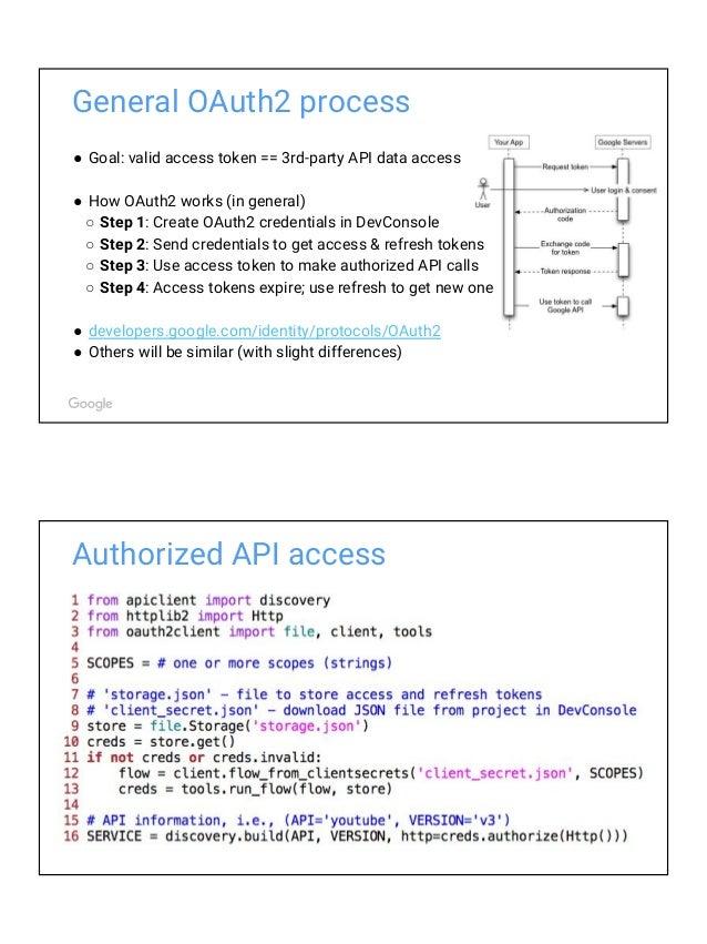 Exploring Google APIs with Python